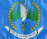 Flag of Grande Prairie